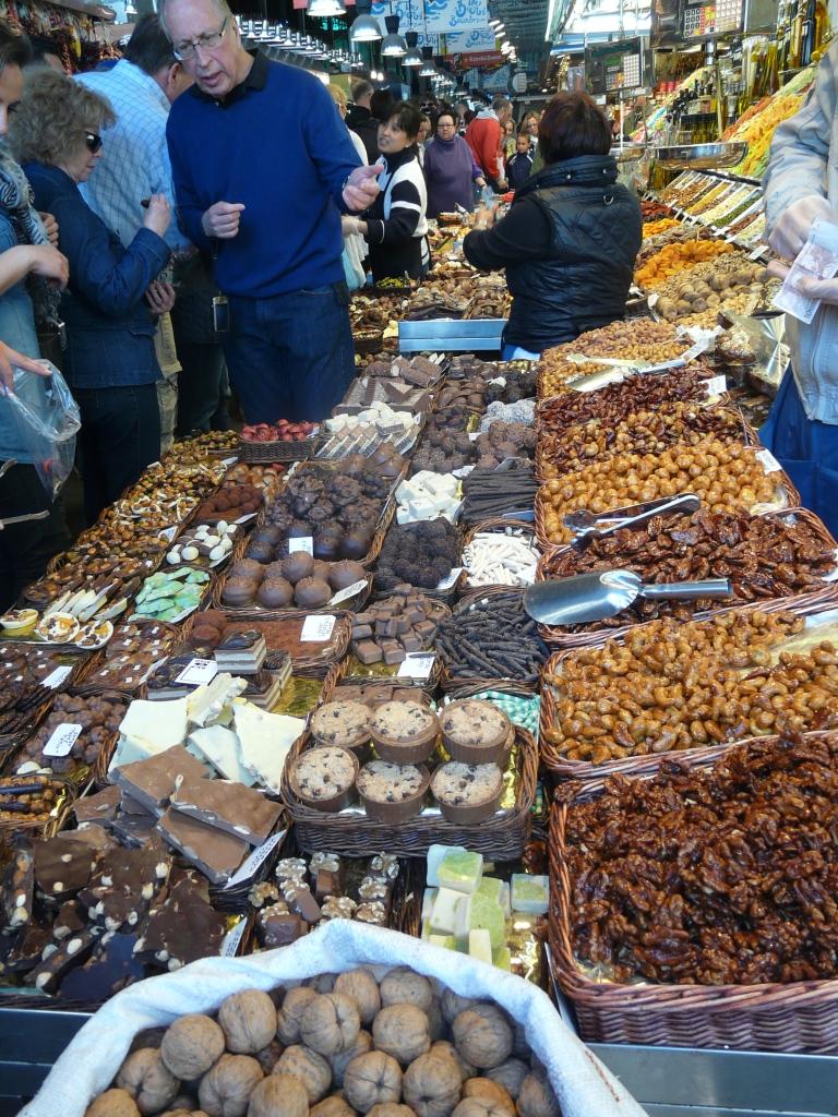 Food market. Barcelona