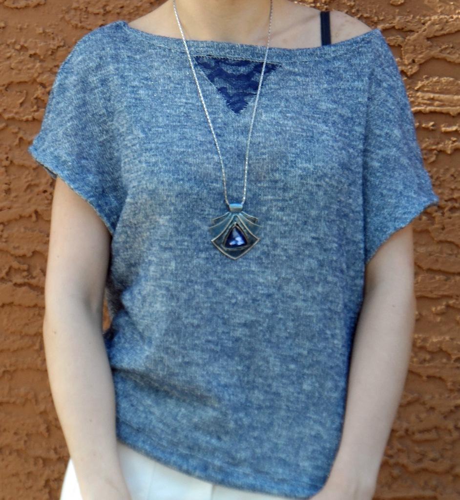 Blue knit 5