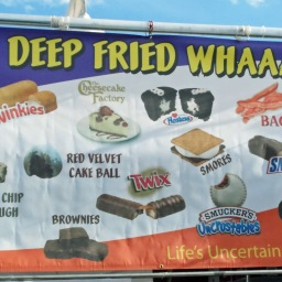 """Deep fried WHAAAAT?"" or Las Vegas Foodie Fest"