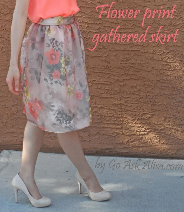 Flower skirt cover