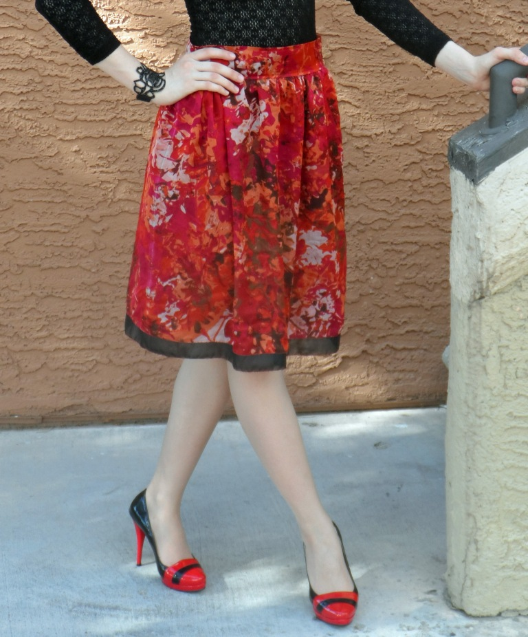 Red skirt 2