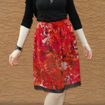 Red skirt 6
