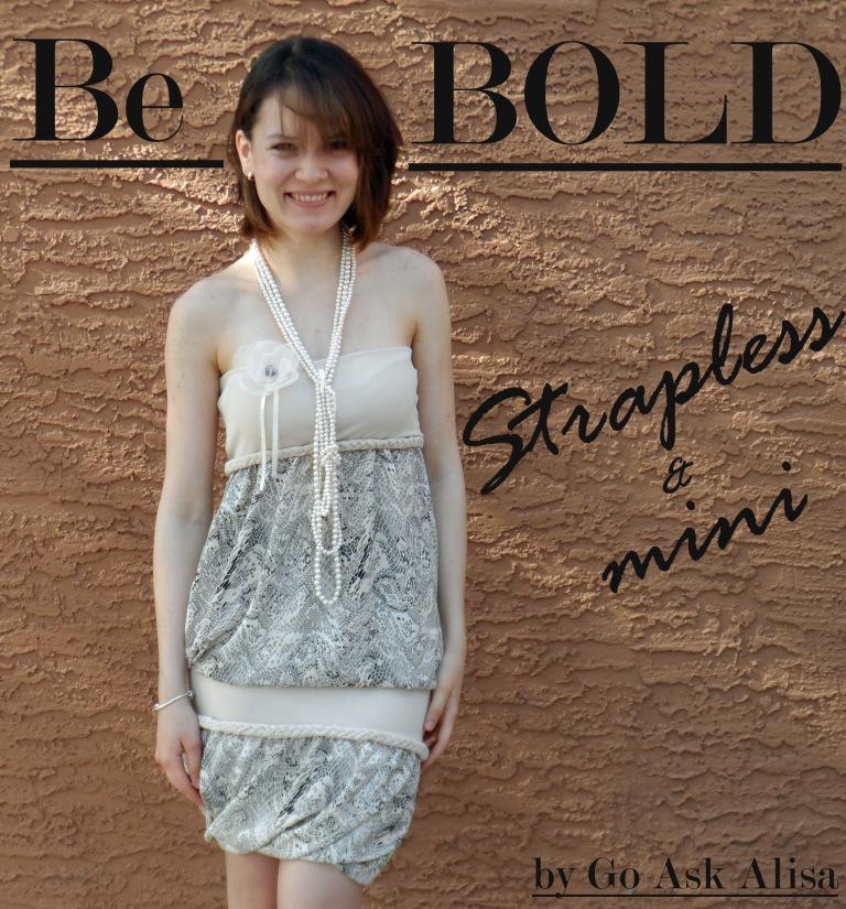 Strapless summer dress!