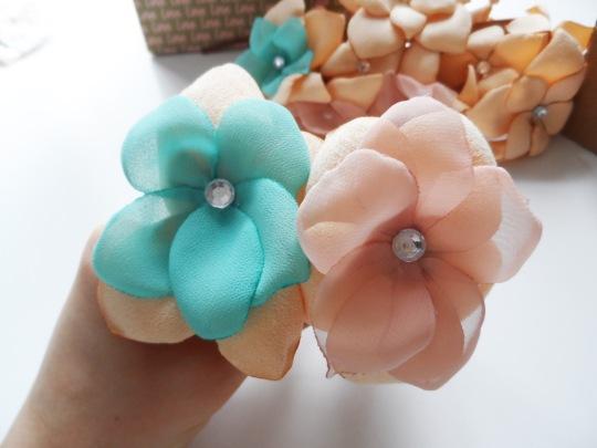 Flower bracelets 3
