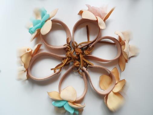 Flower bracelets 5