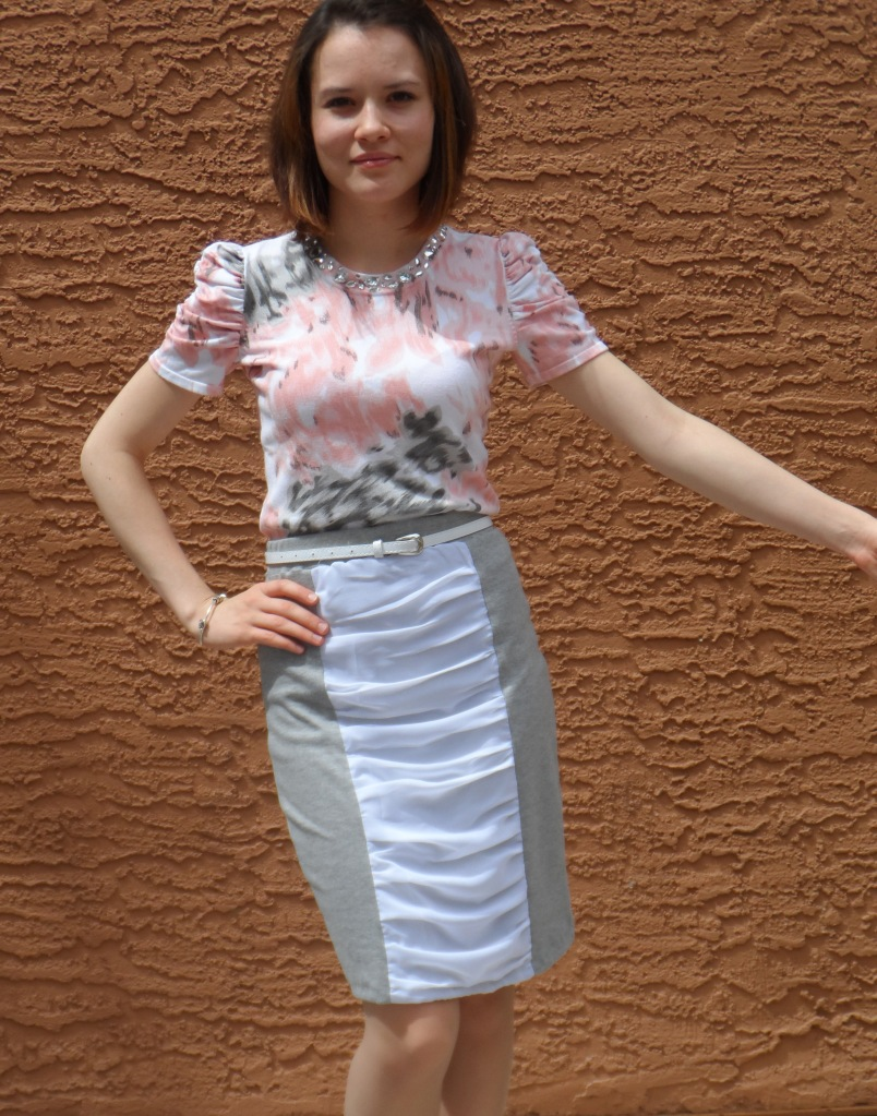 Ruffled skirt 1