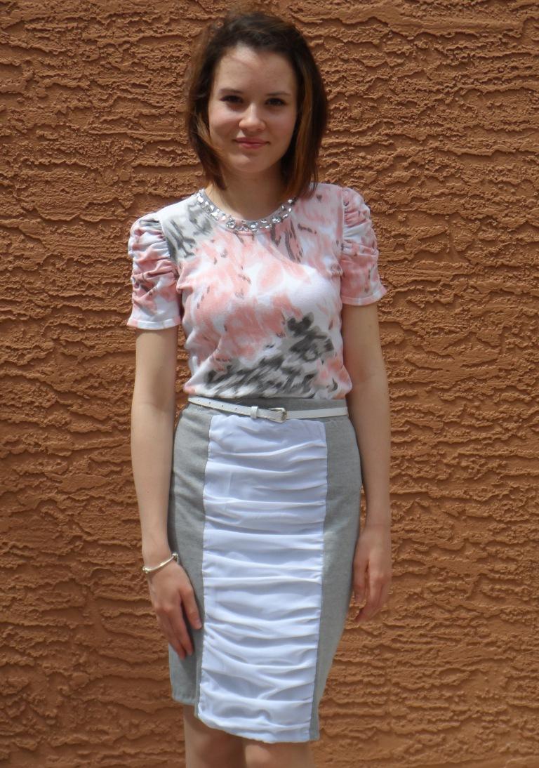 Ruffled skirt 4