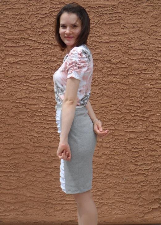 Ruffled skirt 6