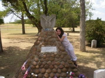 Geronimo's grave, Oklahoma