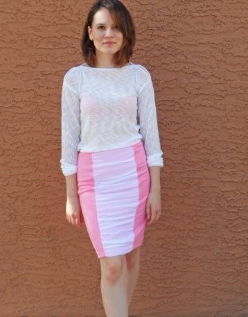 Pink skirt 7
