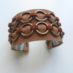 Medieval cuff bracelet at Firefly Trade Goods