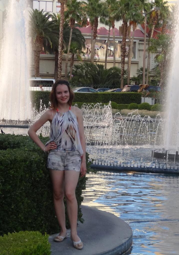 Burda's silk summer shorts