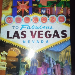 Wordless Wednesday: a postcard from fabulous Las Vegas