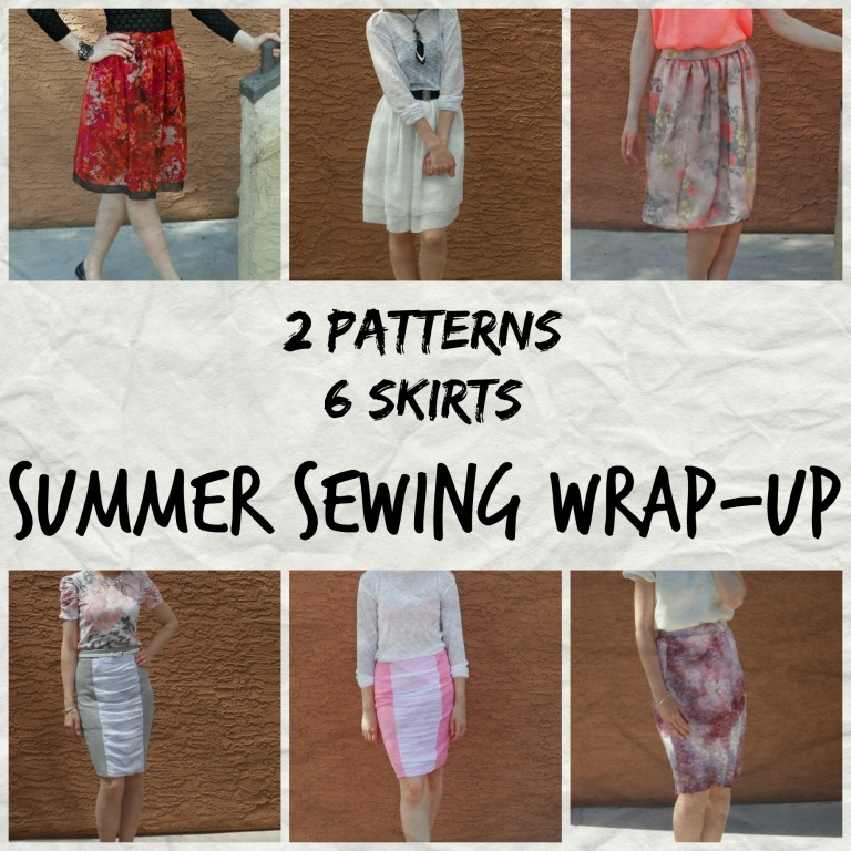 Summer sewing wrap up 1
