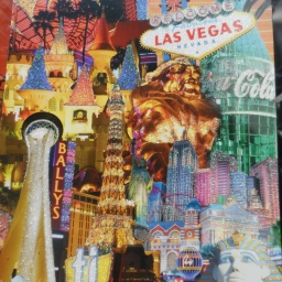 Wordless Wednesday: greetings from Las Vegas!