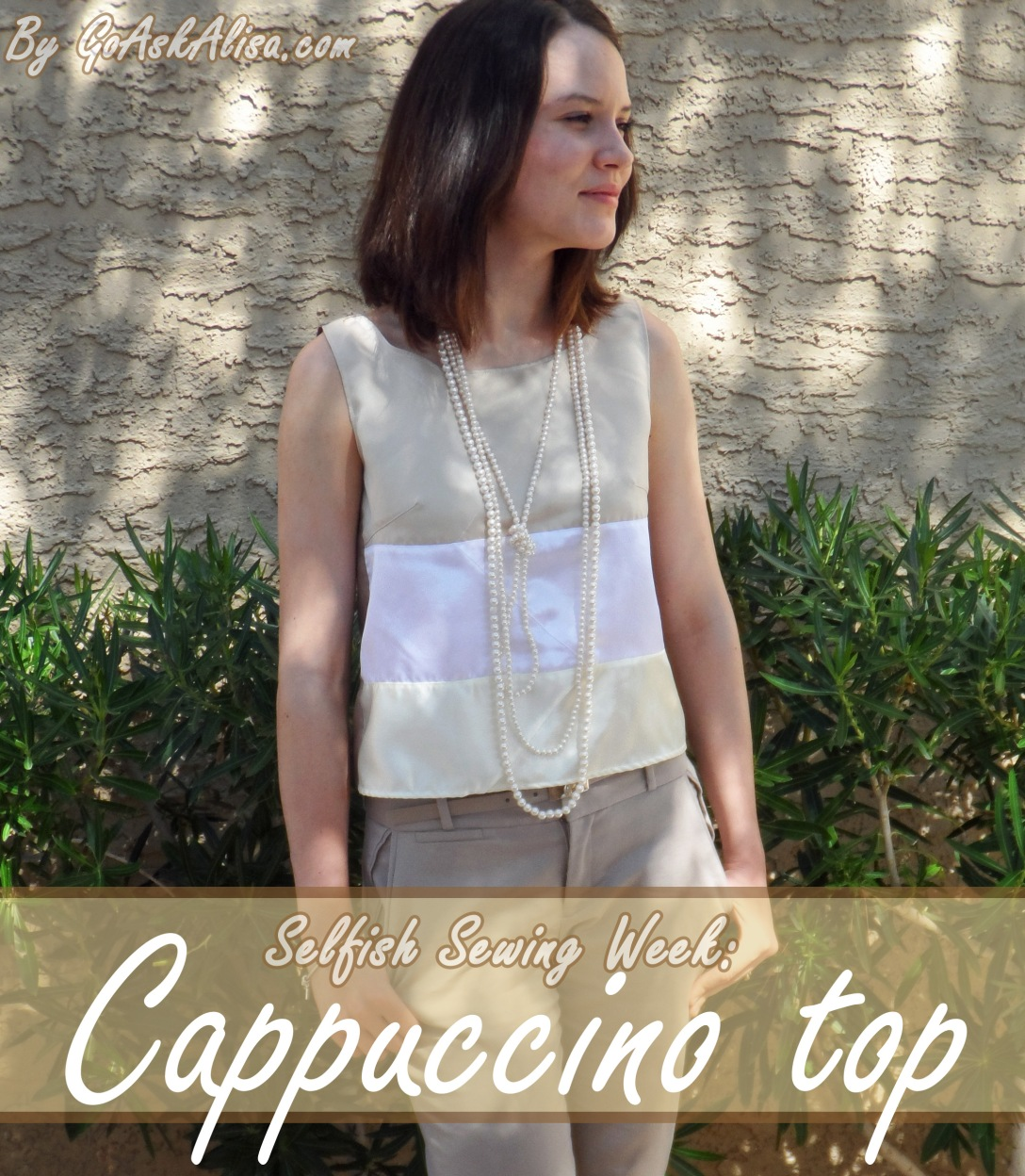 Selfish Sewing - cappuccino top