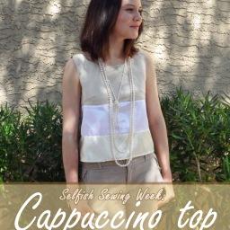Selfish sewing: cappuccino top!