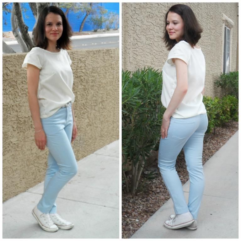 Sewing skinny pants 6
