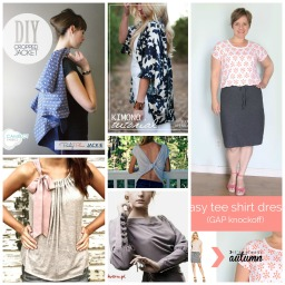 Free fashionable sewing patterns. Useful list.