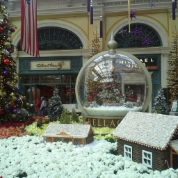 Wordless Wednesday: Christmas in Las Vegas