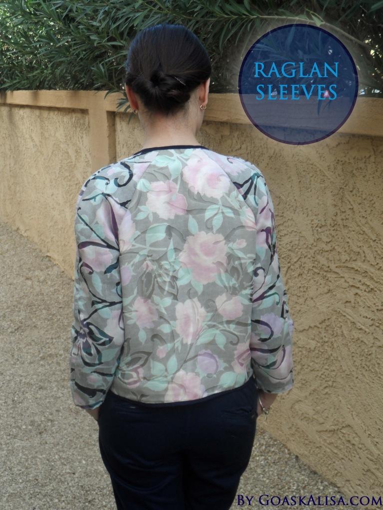 Cropped jacket Burda 4