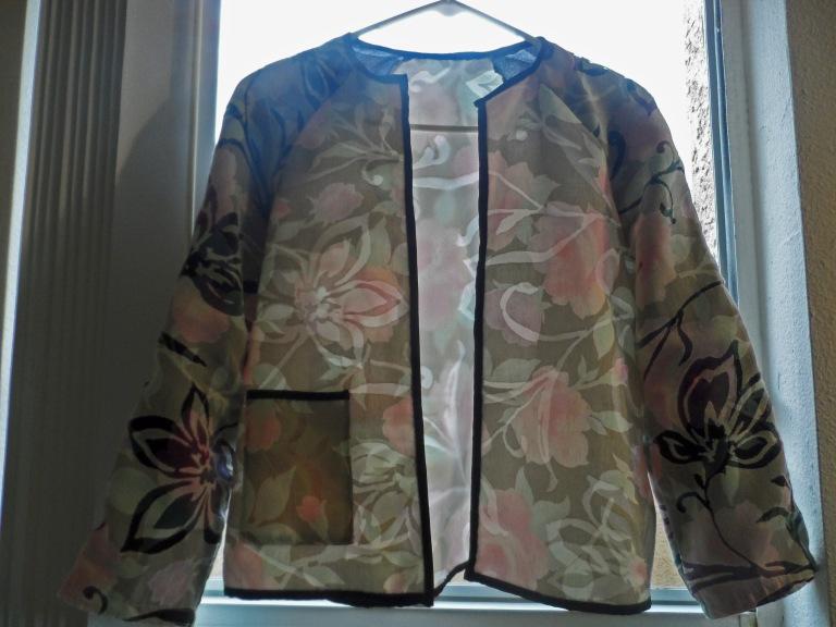 Cropped jacket Burda 5