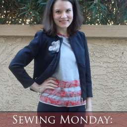 Sewing Monday: Experimental T-shirt!