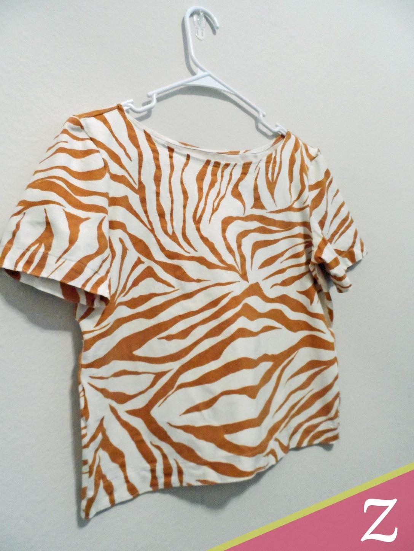 Zebra tee 1r