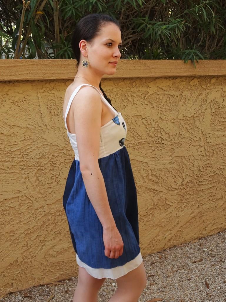 butterfly dress side1