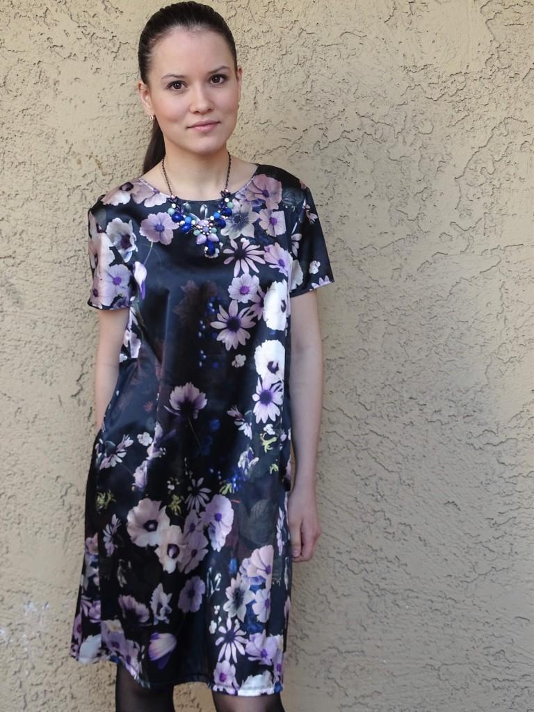 floral shift dress mmmay16 no belt