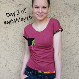 FREE T-shirt pattern and MMMay Day #2
