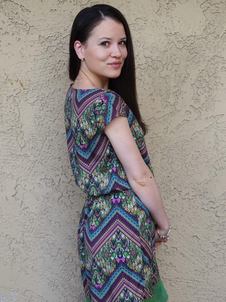 Print dress cover 2