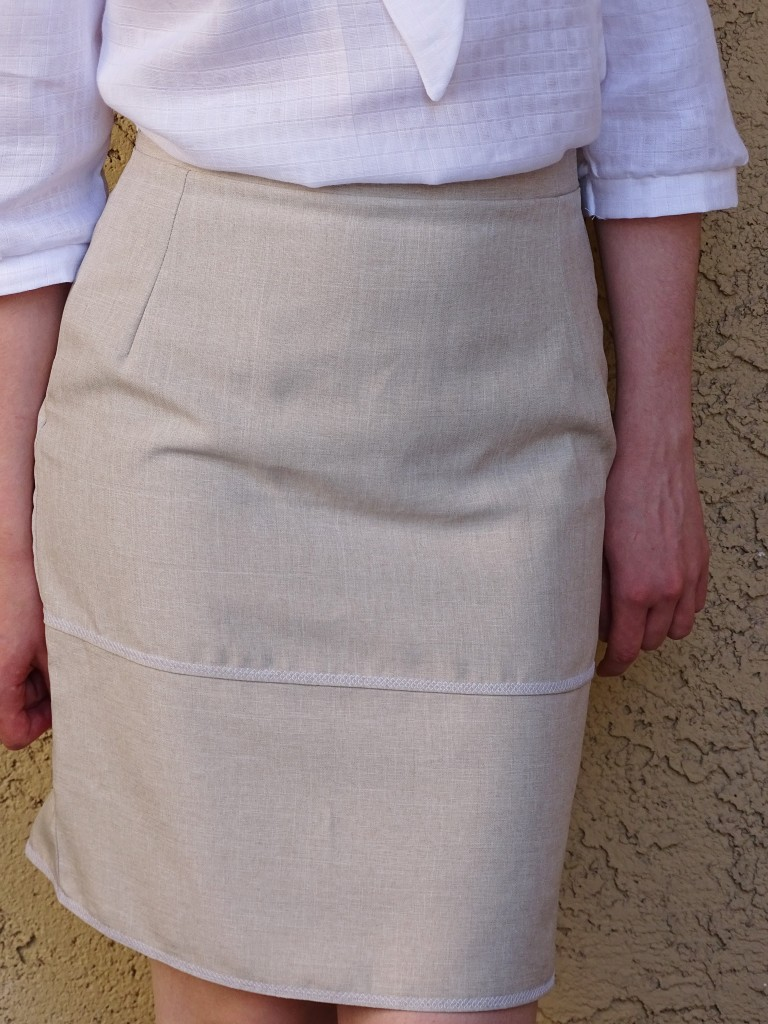 work outfit mmmay16 - pencil skirt and blouse details