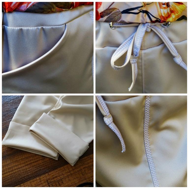 moji pants collage details