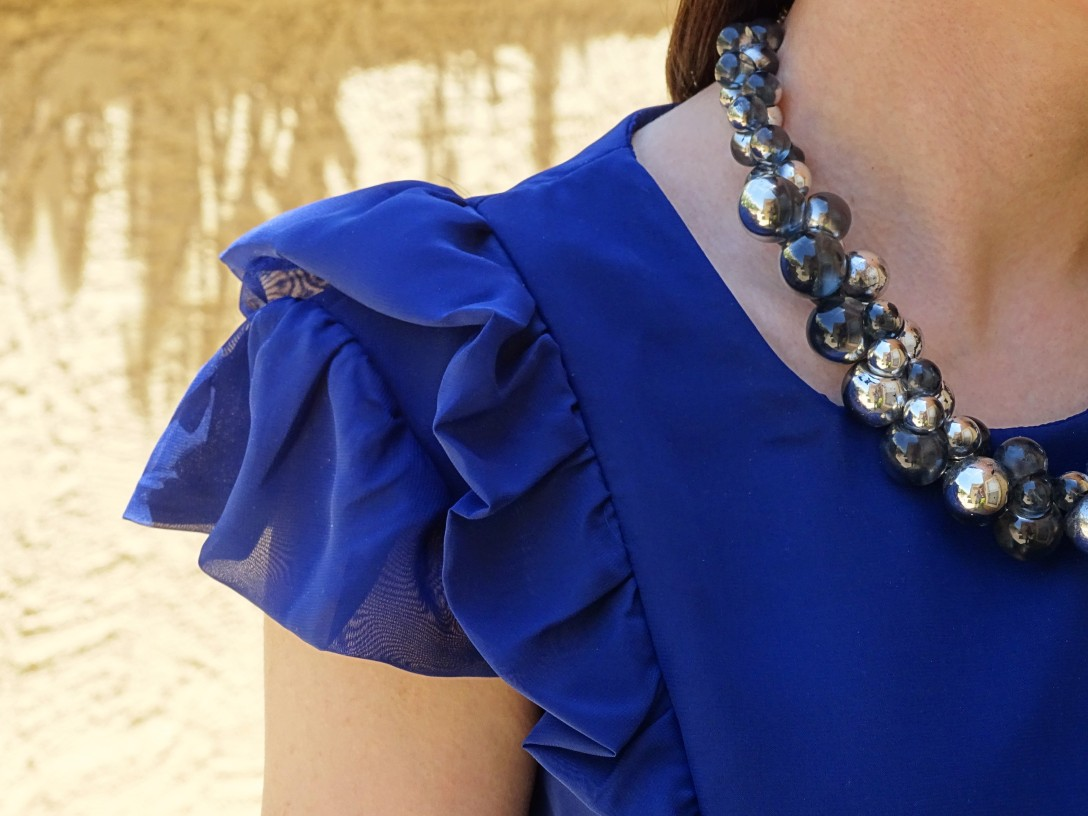 Pendrell blouse gown details