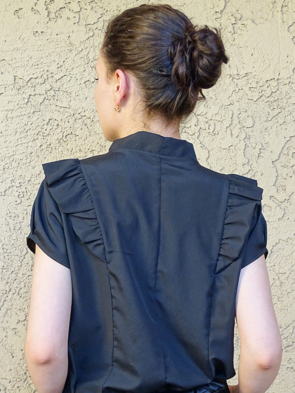 Pendrell blouse - hacked back