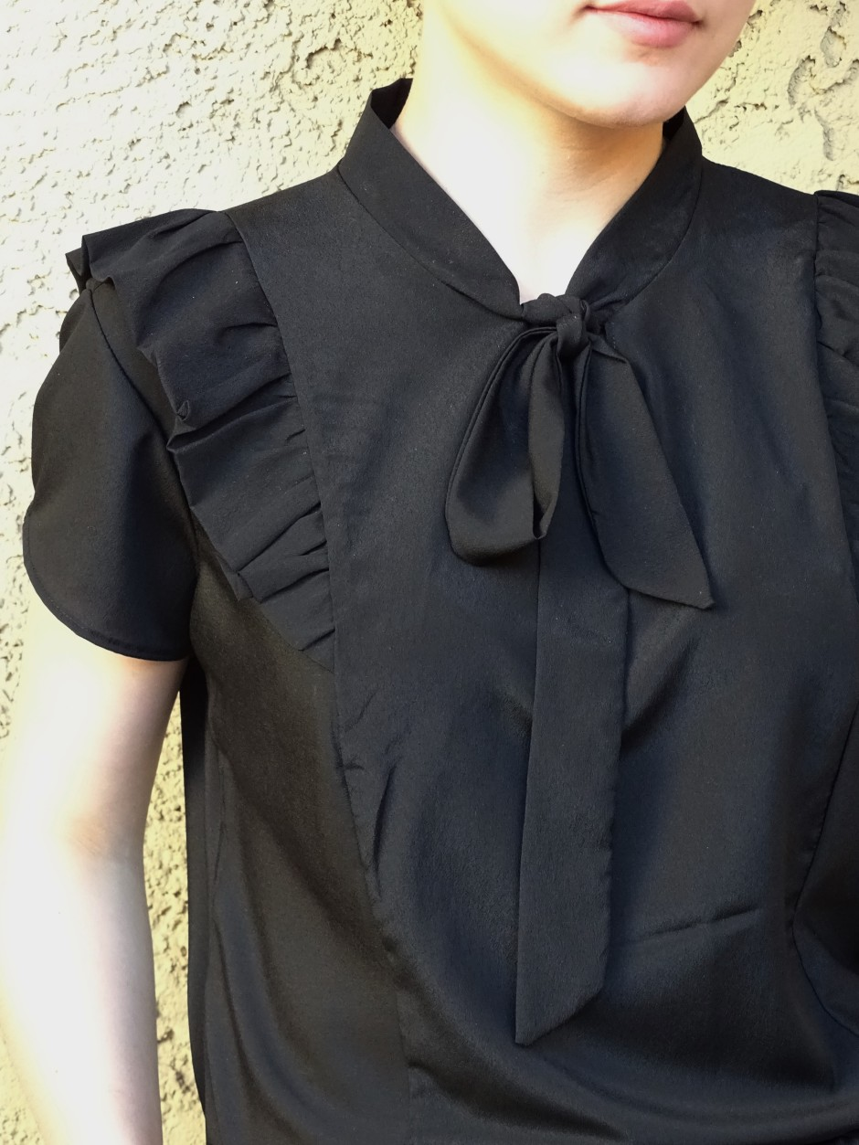 Pendrell blouse - hacked details