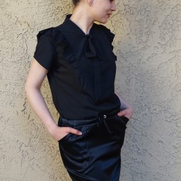 Pendrell shirt and Moji skirt – hack it!