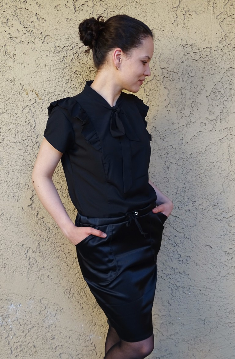 Pendrell blouse - moji skirt