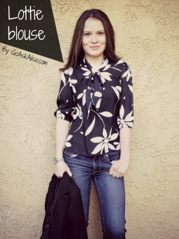 My favorite FREE blouse pattern