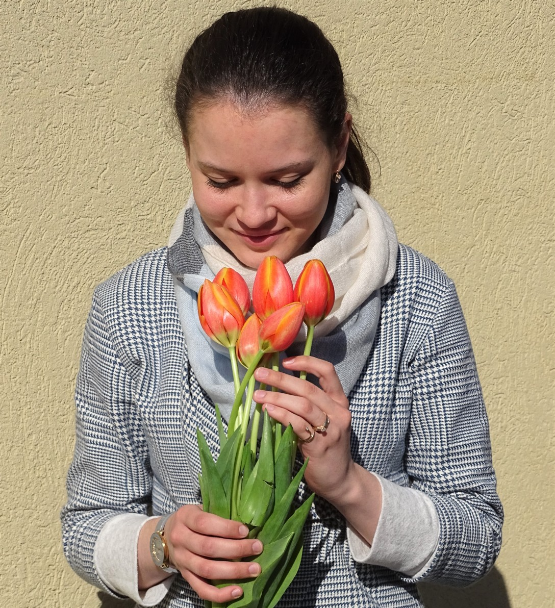 4 flower jacket