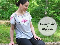 Sewing perfect summer T-shirt!