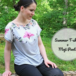 Sewing perfect summer T-shirt!
