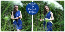 Indie Pattern Month – the Hannah dress (with review)